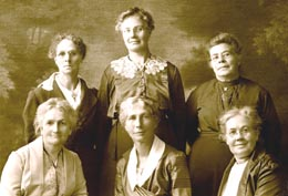 Langley_all-woman_government_1920